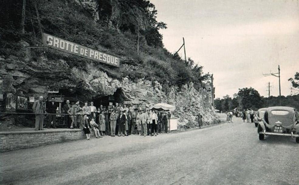 Historiquehistory grottes de Presque - Lot Quercy