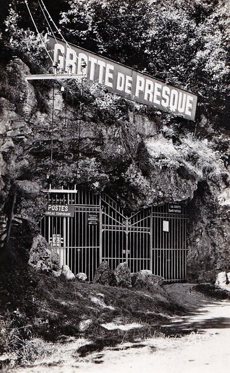 historique history grottes de Presque - Lot Quercy